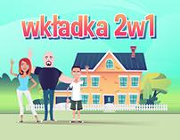 Wkładka 2w1 - explainer video | Crazy Cat Studio