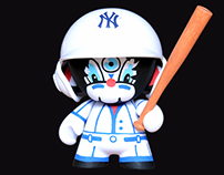 Artoy Custom #3 - Munny X Yankees NYC