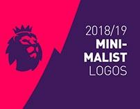 Premier League Minimalist Logos