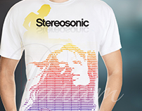 Visual Graphic : Stereosonic T-Shirt Design