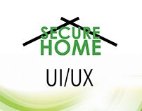 Secure Home - Simple UI/UX design