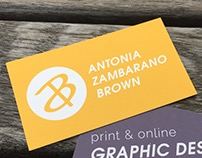 Personal Business Cards and Branding