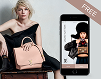 LOUIS VUITTON l App IOS e-commerce concept