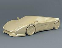 Supercar 3D print project