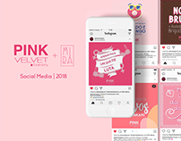 Pink ~ Social Media