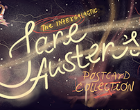 The Intergalactic Jane Austen's Postcard Collection