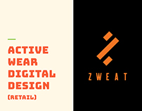 Activewear Brand - Digital Design