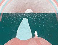 Character design: Boo! Children's book.