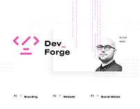 Dev Forge Conference - Branding & Web Design