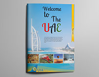 UIA In flight Magazine Design