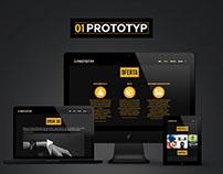 01Prototyp website
