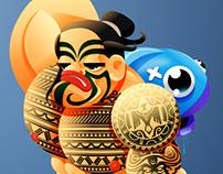 Maori - Character Design Challenge