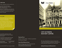 City of Perth History Centre DL Brochure