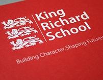 King Richard School Branding