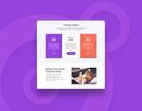 Tristan – UI Kit Website Template