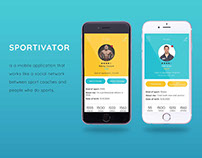 Sportivator –– mobile application for healthy lifestyle