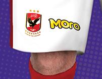 Moro - Al Ahly SC's Sponsor