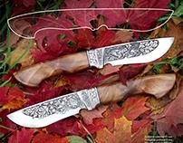 Нож с рысью.