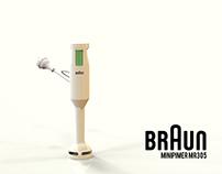 Análisis de producto | Braun MR305 | Rediseño