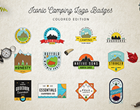 Iconic Camping Logo Badges 2
