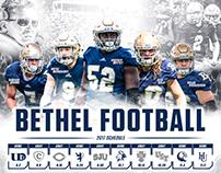 2017 Fall Sports Team Posters - Bethel University