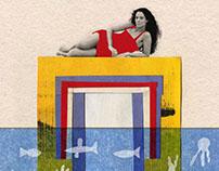 Ilustrações Cine Olinda // Cine Olinda Illustrations