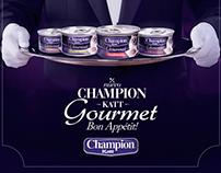 Champion Katt Gourmet
