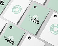 Free PSD Business Card Design Showcase Mockups_2