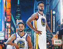 Splash Brothers | Stephen Curry X Klay Thompson