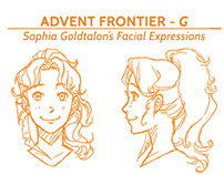 Game Character Designs & Graphics (Frontier First 2013)
