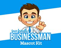 Your Friendly Businessman Mascot Kit