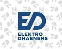 Elektro Dhaenens - branding