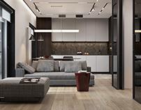 Дизайн апартаментов в ЖК Вавилова