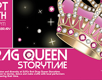 Drag Queen Storytime Poster