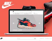 Редизайн интернет-магазина Nike