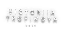 Victoriia Trofimova design. First work in motion