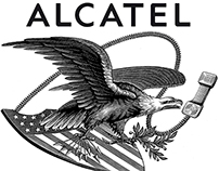 Alcatel Promotional Ads Illustrated by Steven Noble