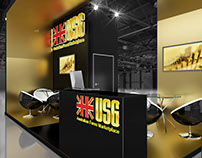 Exhibition stand for USG