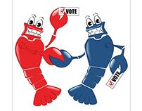 """Go Vote"" poster"