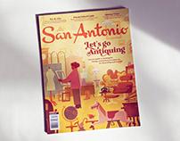 Cover Art for San Antonio Magazine