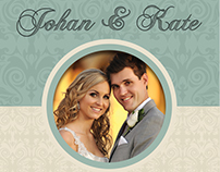Wedding DVD Cover and DVD Label Template Vol.8