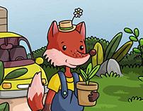 Illustration - Fox