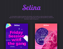 Selina Hotels graphic design proposal