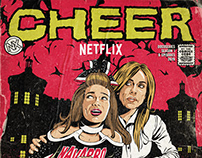 Netflix's Cheer | Exclusive Poster Artwork