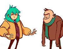 Duerme Pueblo characters
