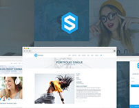 Sankana - MultiPurpose PSD Template