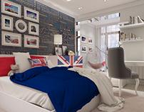 "Детская комната в стиле ""Британика"""