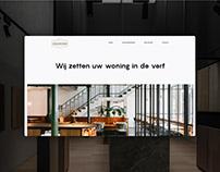 Minimal website | De Schilderstudio
