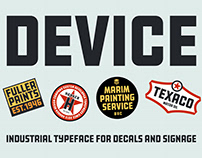 Device Typeface