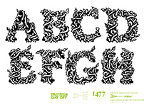 Triffids Day Off Typeface Design